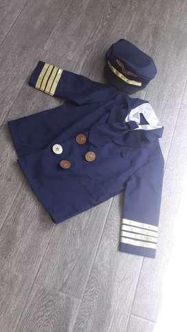 Disfraz de niño Piloto