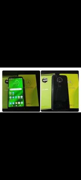 Se vende Motorola g6 plus estado 10 de 10 con su caja original cargador original y factura de compra.
