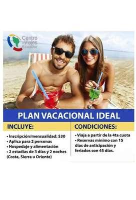Disfruta tus vacaciones