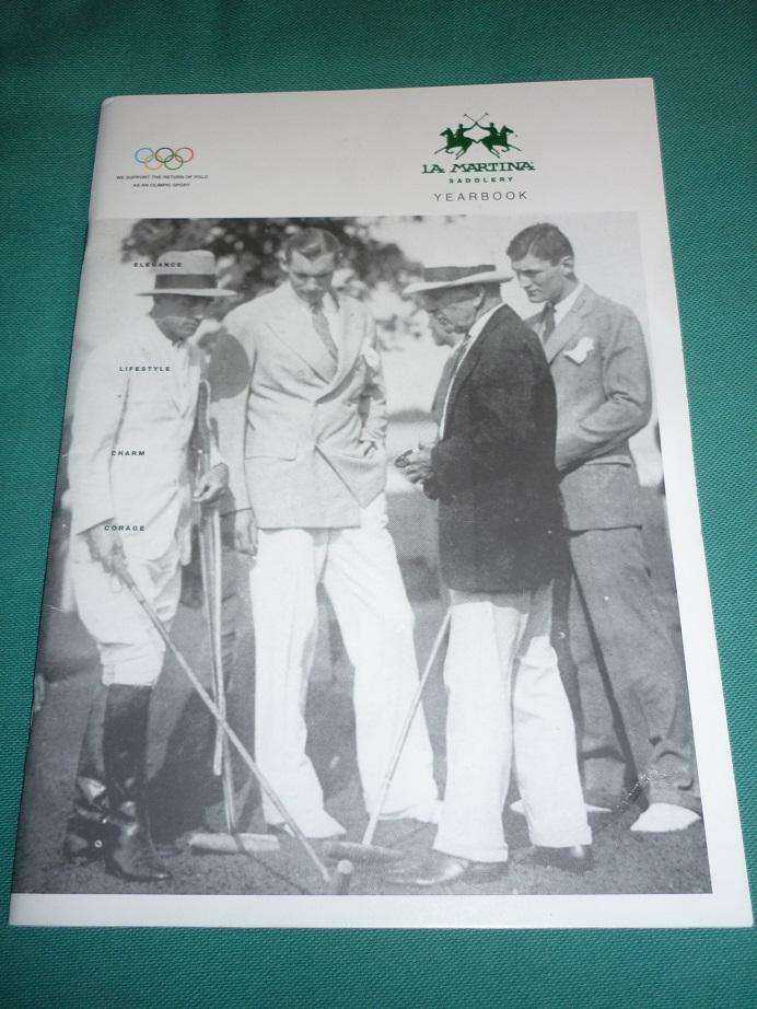 REVISTA LA MARTINA YEARBOOK 2001/02 HISTORIA DEL POLO  MUNDIAL DE POLO 0