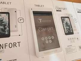 Equipos nuevos!!! Tablet Confort 7 pulgadas