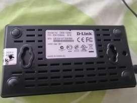 Switch10/100 fast ethernet des 100A 8 puertos