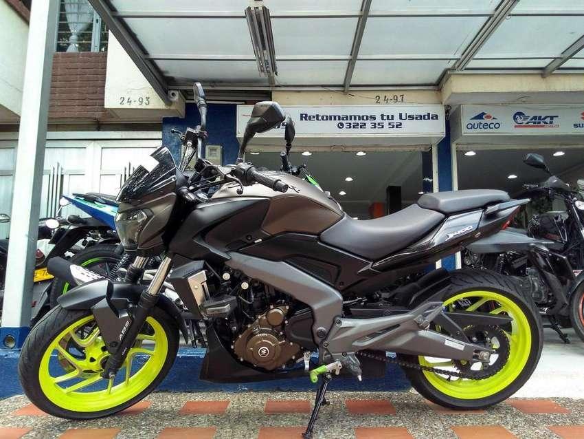 Dominar 400 modelo 2019 excelente! Recibimos tu moto usada con la mejor retoma! 0