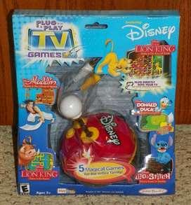 Tv games DisneyPato Donald Rey Leon Aladdin LiloConectar al tv y jugar