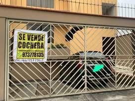 VENDO-COCHERA