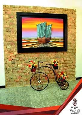 Cuadro y bicicleta