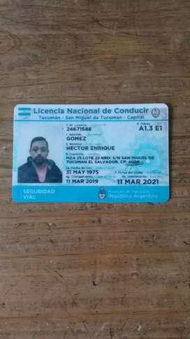 Estoy buscando trabajo soy chófer tengo carnet de manejo E1