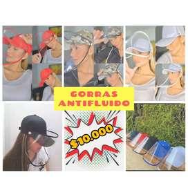 Gorras Antifluido - Promoción