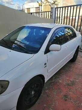 Toyota corolla 2005, 1.6, conservado, No taxi, no choques, recién pintado, full funciona todo (aire, vidrios, etc?)