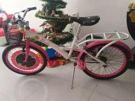 Se vende cicla de niña