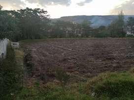 Venta de terreno de 1000 m2  en Amaguaña Valle de los Chillos  Sector los Guabos
