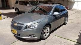Automóvil Chevrolet Cruze Platinum 2012 Gris Estaño