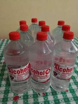 Alcohol etílico rectificado 96