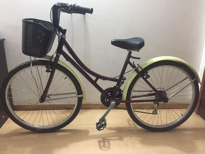 Bicicleta Playera Vintage Vinotinto 0