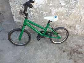 Bicicleta rodado 16 verde