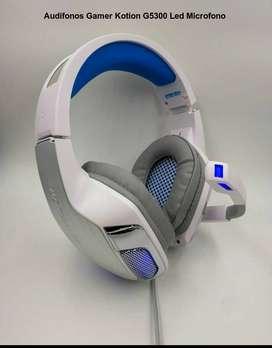 Audifonos Diadema Gamer Kotion G5300 Con Microfono