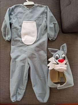 Disfraz de conejo para niño niña bebe talla 3 años disfraces