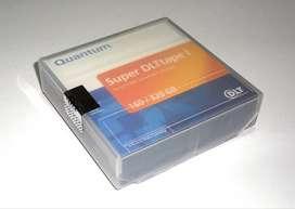Tape Quantum Super DLT Tape-1 SDLT 320 160/320GB - Almacenamiento Externo tipo Disco Duro 160gb 320gb Cassette