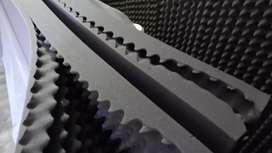 Espumas acústicas 2m de alto x 1 de largo