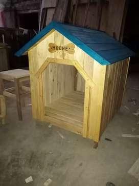 Casas para mascotas  de madera