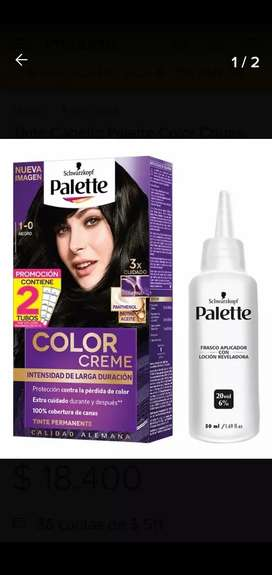 Tinte Palette Color Creme