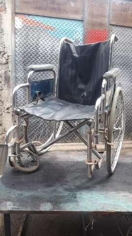 Silla de ruedas para reparar
