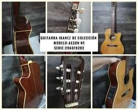 Vendo solo para entendidos Guitarra Ibanes de colección.