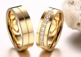 Anillos oro y plata