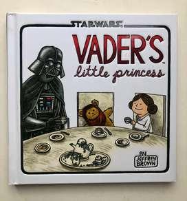 Libro infantil star wars - vader little princess (usado como nuevo)