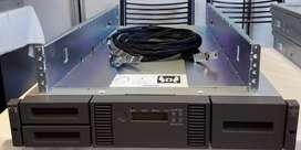 Tape Storageworks Msl 2024 Hp Ak379a Con 2 Drives Lto-6 Sas