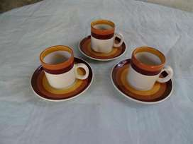 Juego tazas para café Manchester