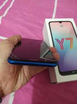 Huawei Y7 2019 con 1 mes de uso