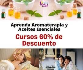 Aprovecha fin de mes Aromaterapia y Terapias Alternativas