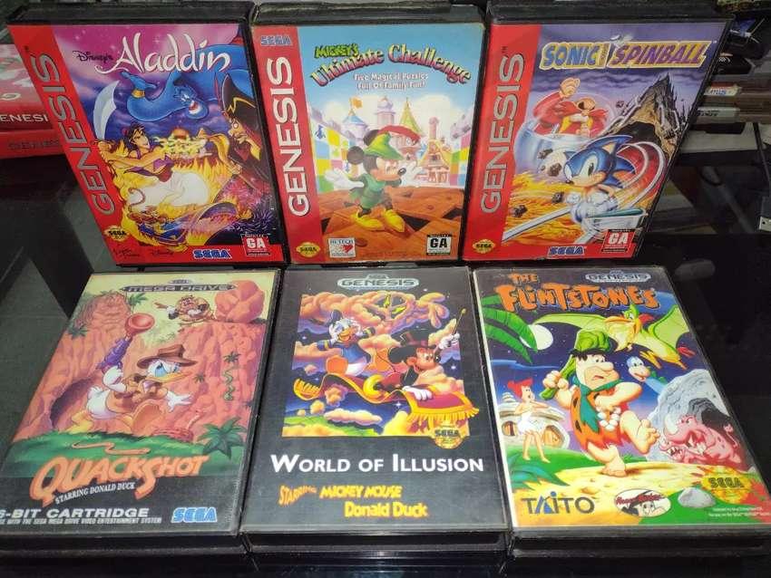 Juegos Sega génesis
