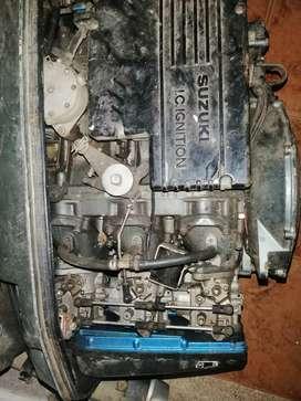 Vendo motor fuera de borda susuky 75