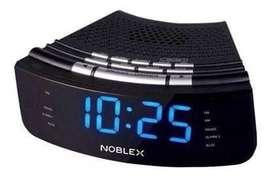 (NUEVO) DESPERTADOR NOBLEX RADIO RELOJ DIGITAL AM FM