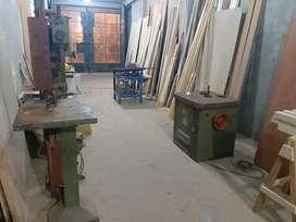 Servicio de maquinaria para carpinteria