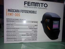 Mascara fotosensible
