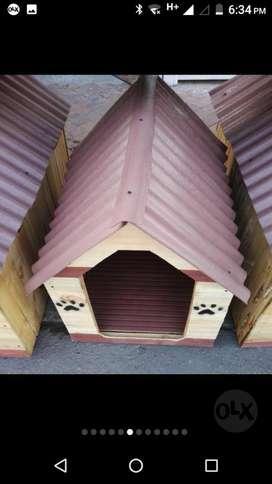 Casas en Madera para Perros