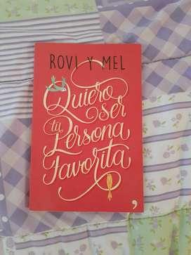 Libro Quiero ser tu persona favorita