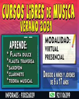 CLASES VERANO 2021