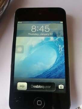 iPod Touc mancha pantalla h 8gb 4 generación  cargador