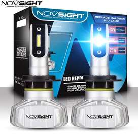 Luces Novsight LED H4 (Altas y bajas) 10000 Lumens