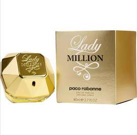PERFUME LOCION LADY MILLION DE PACO RABANNE DE 80ML