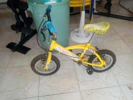 1AA Bicicleta para Niños Número 12