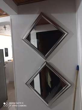 Vendo espejos de lujo