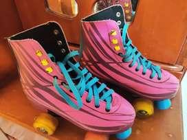 Vendo lindos patines con luces