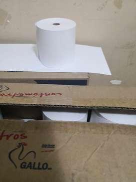 Rollo de Papel Termico 80x80mm, 80x45m