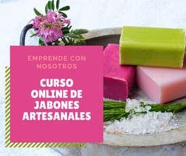 CURSO ONLINE DE JABONES ARTESANALES
