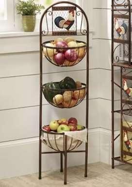 Organizador De fruta y verduras Estilo Industrial/Vintage en hierro!! Eternium Muebles Industrial Vintage